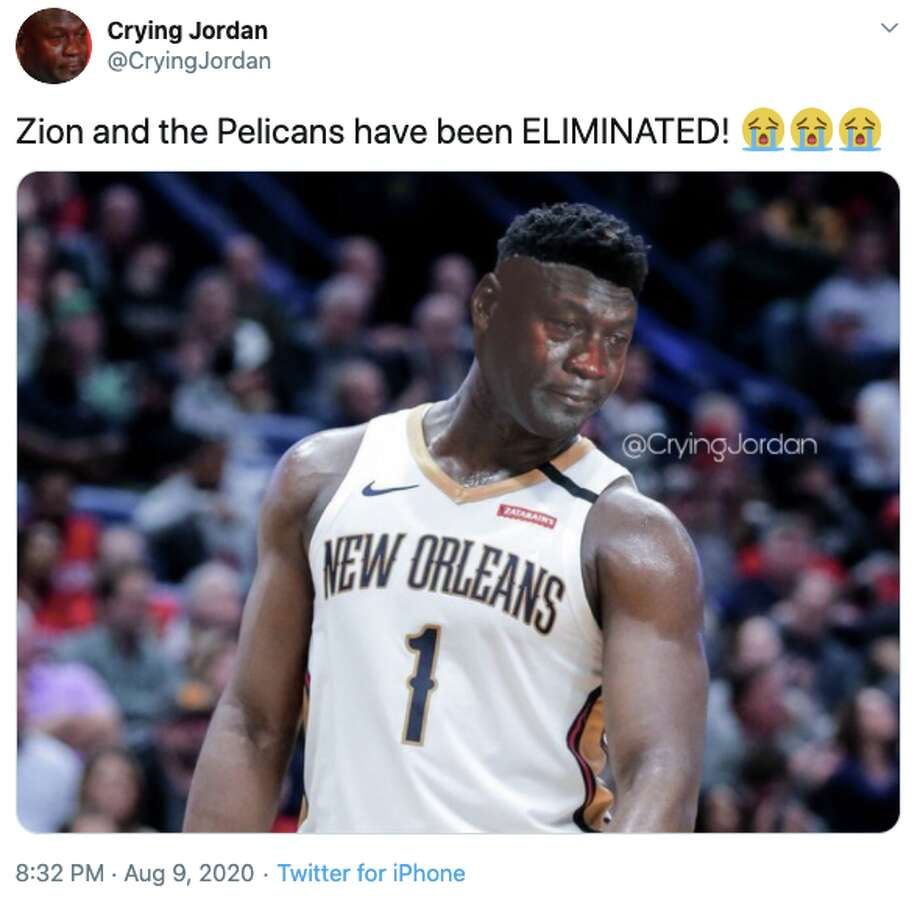 The Spurs eliminated the Pelicans from playoff contention Sunday. Photo: Twitter