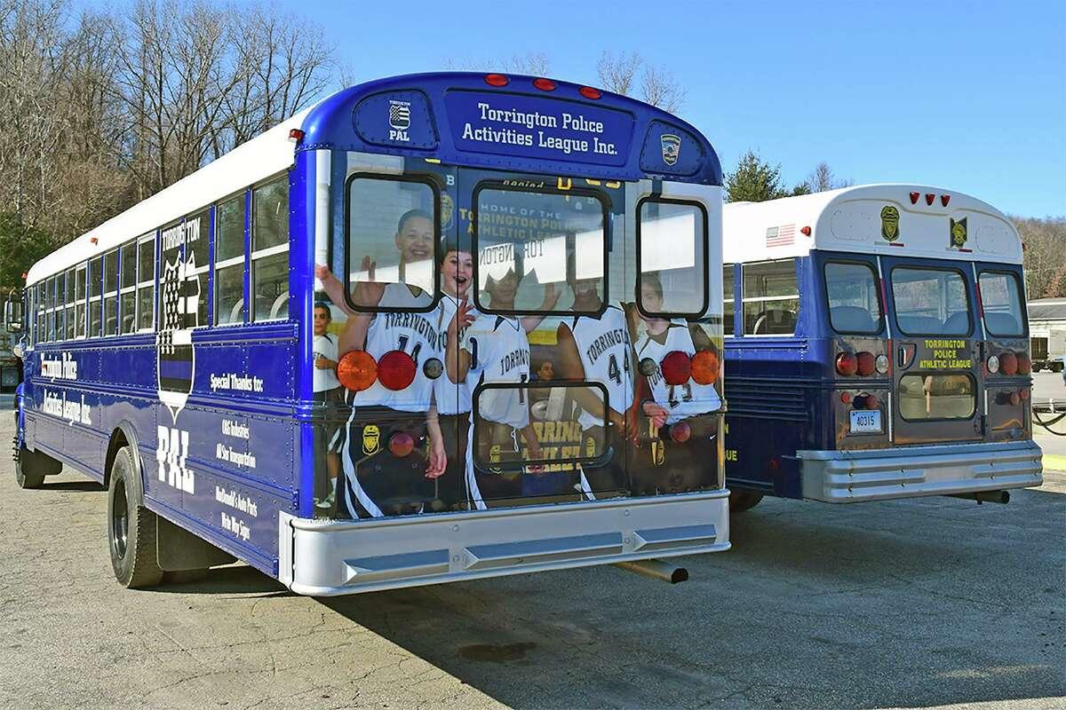The Torrington Police Activities League's bus.