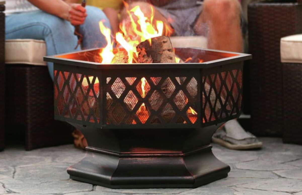 Best Choice Products 24in Hex-Shaped Steel Fire Pit, $99.99 at Walmart