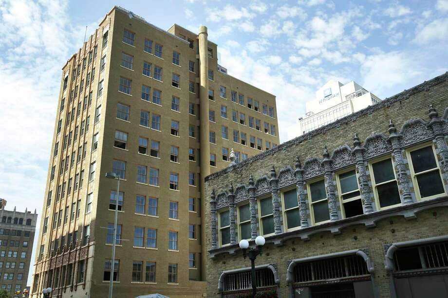 The structure originally known as the Real Estate Building was built in the 1920s. Photo: Bob Owen /San Antonio Express-News / ©2020 San Antonio Express-News