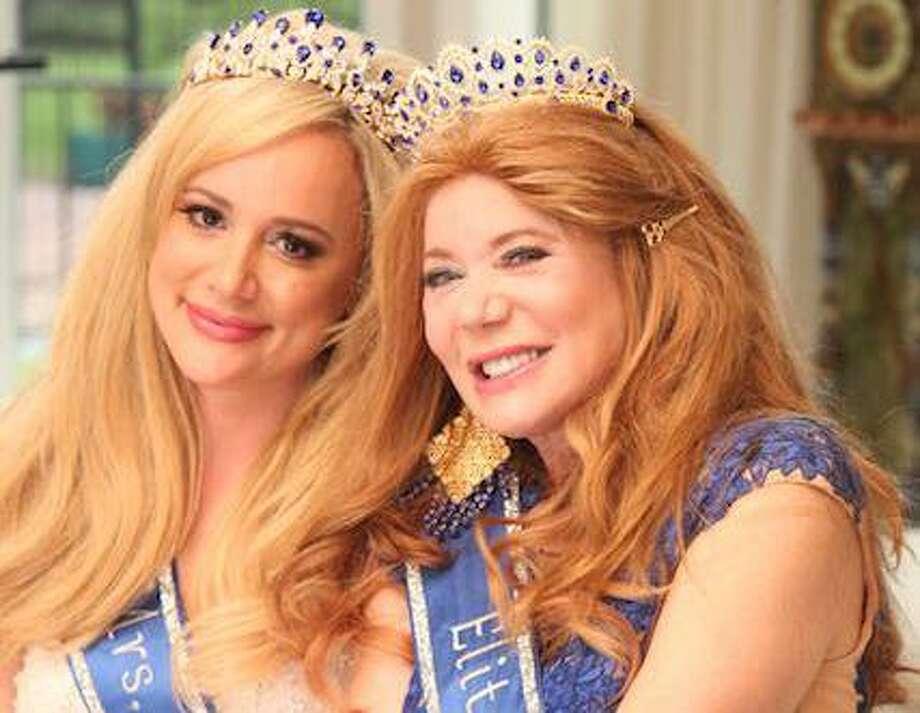 Erica Rose (left) won Mrs. Texas Legacy and Cindi Rose (right) won Miss Texas Elite.