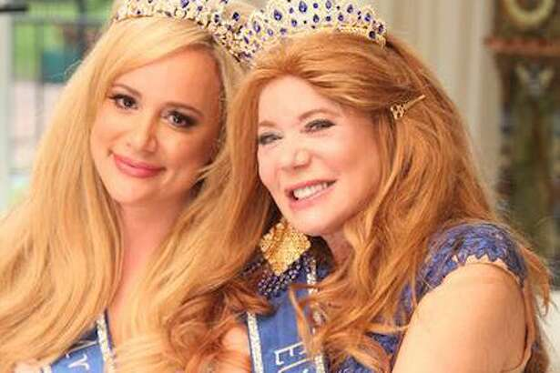 Erica Rose (left) won Mrs. Texas Legacy and Cindi Rose (right) won Miss Texas Elite.
