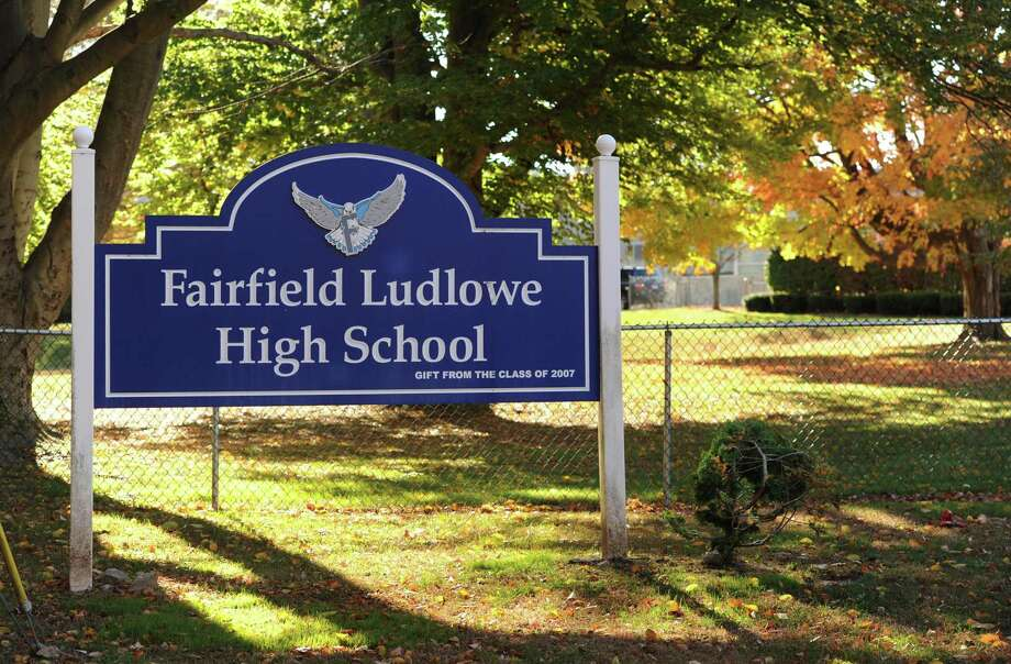 File photo of Fairfield Ludlowe High School at 785 Unquowa Road in Fairfield, Conn. Photo: Hearst Connecticut Media File Photo / Connecticut Post