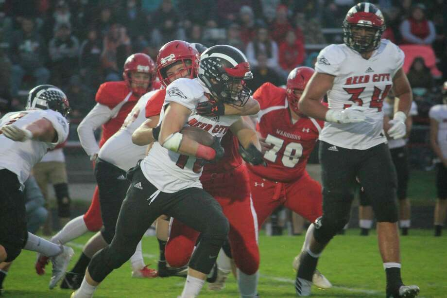 Reed CIty running back Payton Hansen is looking forward to the 2020 season. (Pioneer file photo)