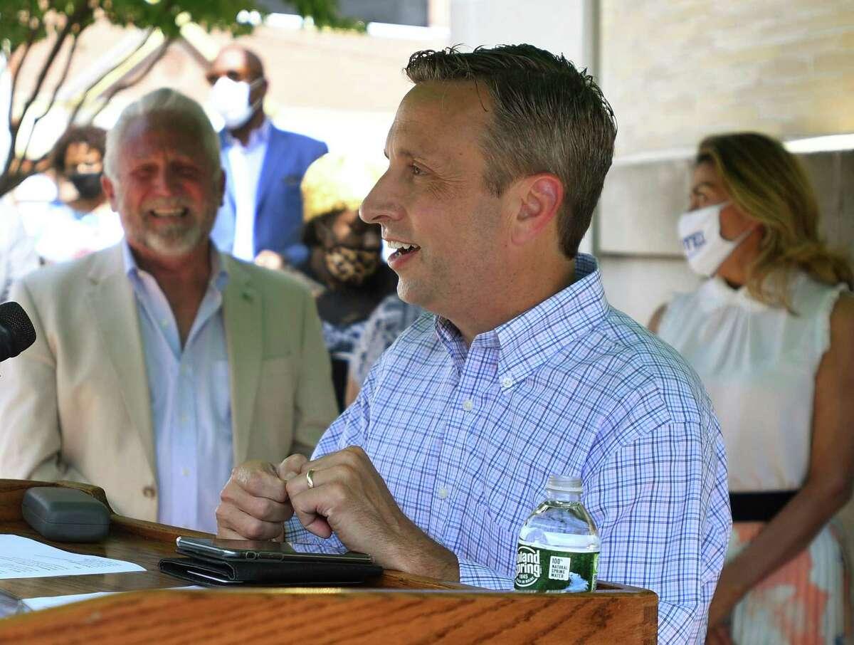 File photo of Sen. Bob Duff, D-Norwalk, taken on Aug. 10, 2020.