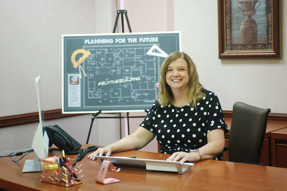 The Deer Park Chamber of Commerce's new president, Paula Moorhaj, is eager to get new programs underway Photo: Kirk Sides / Staff Photographer / © 2020 Houston Chronicle/Kirk Sides