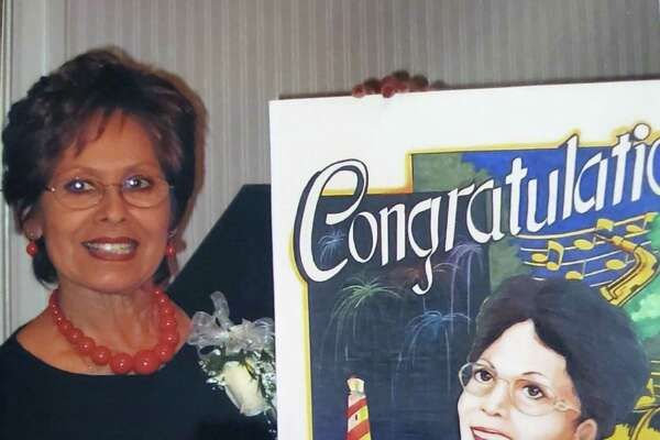 Dora Jordan, seen in a 2006 photo taken at her retirement, was a special event coordinator at the city's Parks and Recreation Department. Long-time city retirees are at work to get a park named for Jordan who died in July.