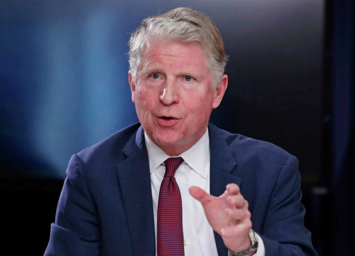FILE - In this May 10, 2018, file photo, Manhattan District Attorney Cyrus R. Vance, Jr., responds to a question during a news conference in New York. The Supreme Court ruled on Thursday, July 9, 2020, that Vance can obtain President Donald Trump's tax returns for a criminal investigation, but sent a second request by Congress for the records back to lower courts. Here are some key questions and answers stemming from the decision. (AP Photo/Frank Franklin II, File)