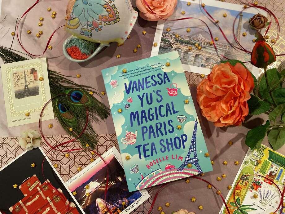 """Vanessa Yu's Magical Paris Tea Shop"" is Roselle Lim's latest novel. Photo: TinaMarie Craven /Hearst Connecticut Media /"