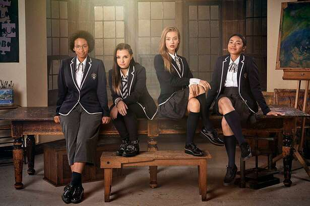 """Get Even"" is a BBC/Netflix series about a group of girls trying to make their school a better place."