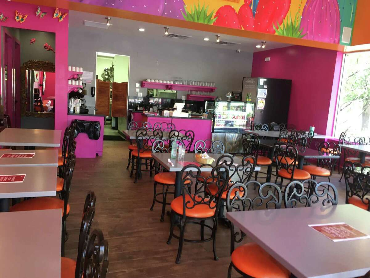 The interior space at Mexico Lindo, which opened in June at 555 E. Basse Road, Suite 113.