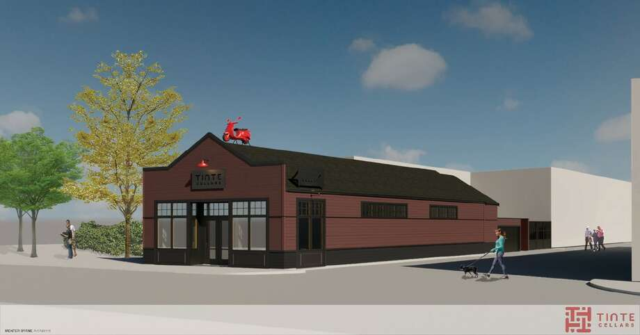 Tinte Cellars Georgetown building rendering. Photo: Courtesy Menter Byrne Architects