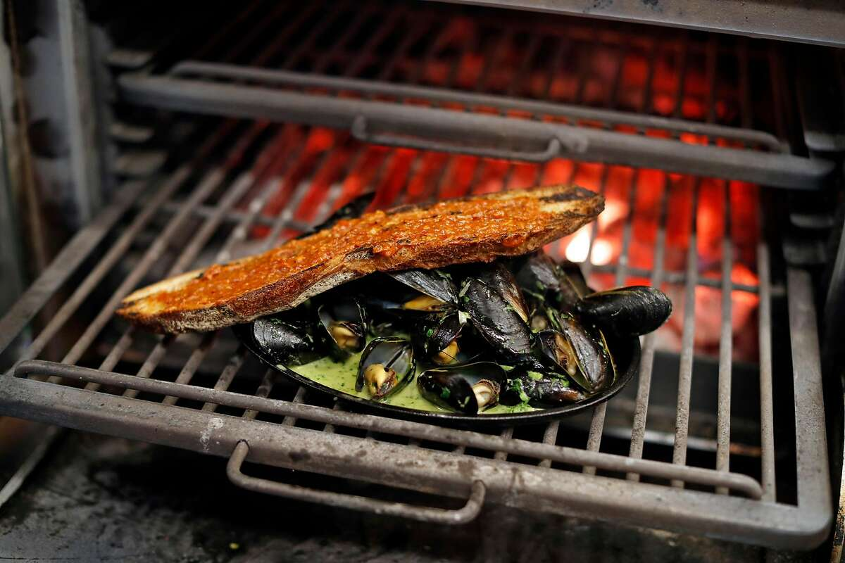 Mussels at Prairie in San Francisco, Calif., on Wednesday, June 26, 2019.