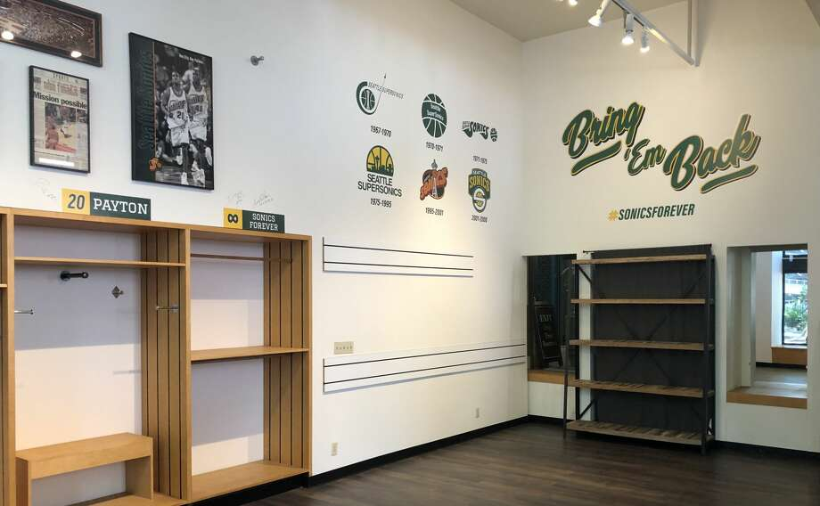 'Sonics forever': World's largest SuperSonics store in Seattle closes permanently Photo: Simply Seattle