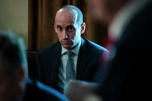 White House aide Stephen Miller runs immigration policy, and uses this position to push actions that divide Americans. If Trump is re-elected, Miller could be chief of staff.