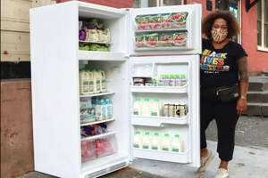 Jammella Anderson is behind Free Food Fridge Albany, which aims to lessen food insecurity within the city.