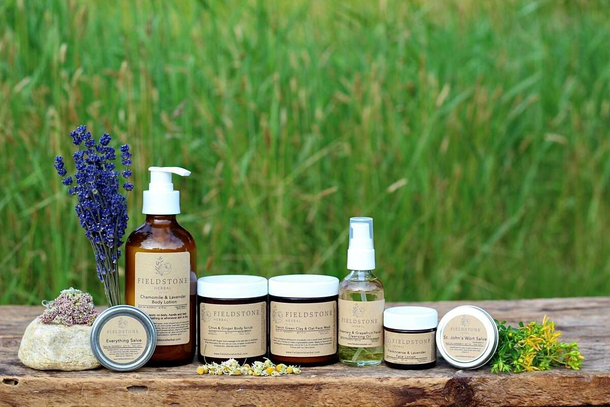 A new line of skin care products was recently released as part of Elyse Sadtler's launch of her new company, Fieldstone Herbal.