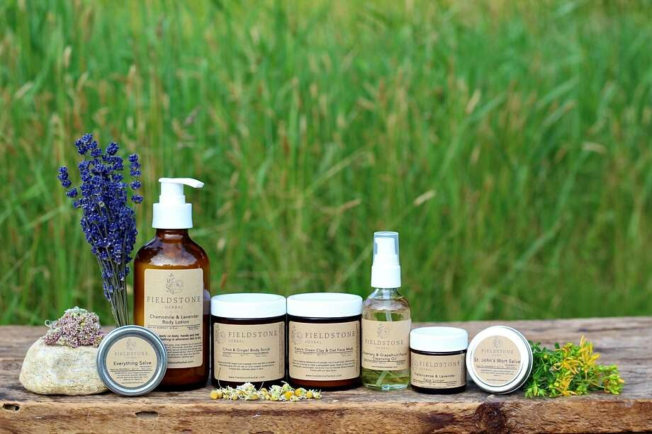 A new line of skin care products was recently released as part of Elyse Sadtler's launch of her new company, Fieldstone Herbal. Photo: Courtesy Of Elyse Sadtler / Danbury News Times Contributed