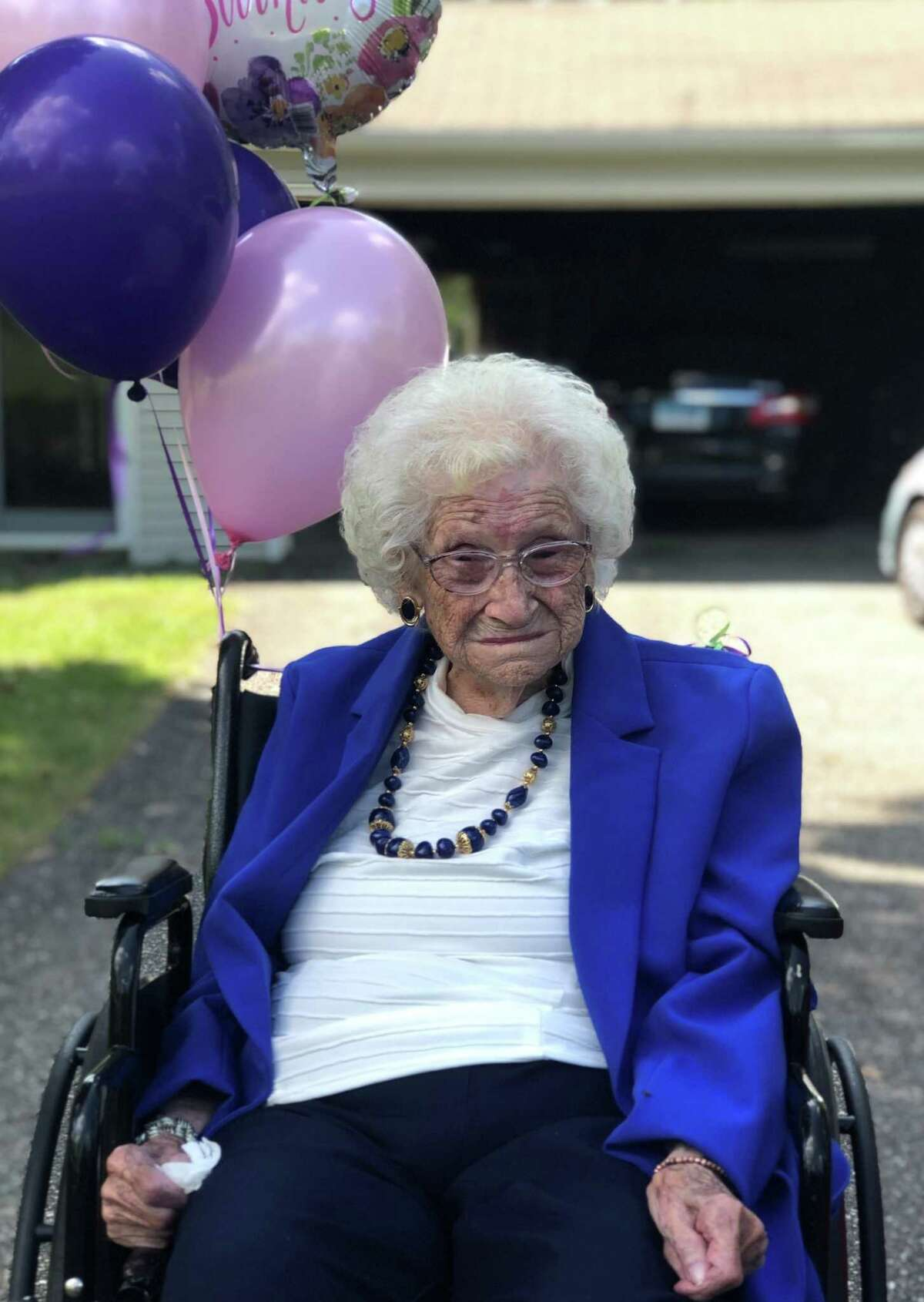 Dorothy Murphy of New Milford celebrated her 109th birthday last Saturday alongside family friend Gift Nifor, 9.