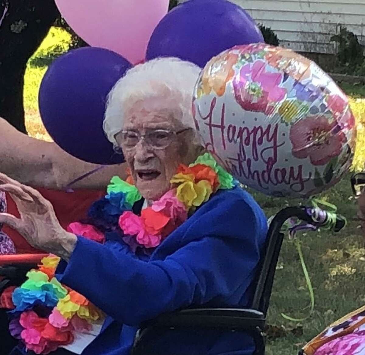 Spectrum/Dorothy Murphy of New Milford turned 109 Aug. 8, 2020, and shared her special day with friend Gift Nifor, 9, whose birthday is the same day. A car parade was held in their honor Aug. 8 at Murphy's home.