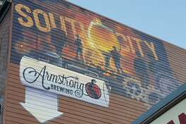 Armstrong Brewing in South San Francisco announced its permanent closure amid the ongoing pandemic. The brewery and tap room is pictured in this 2015 photo.