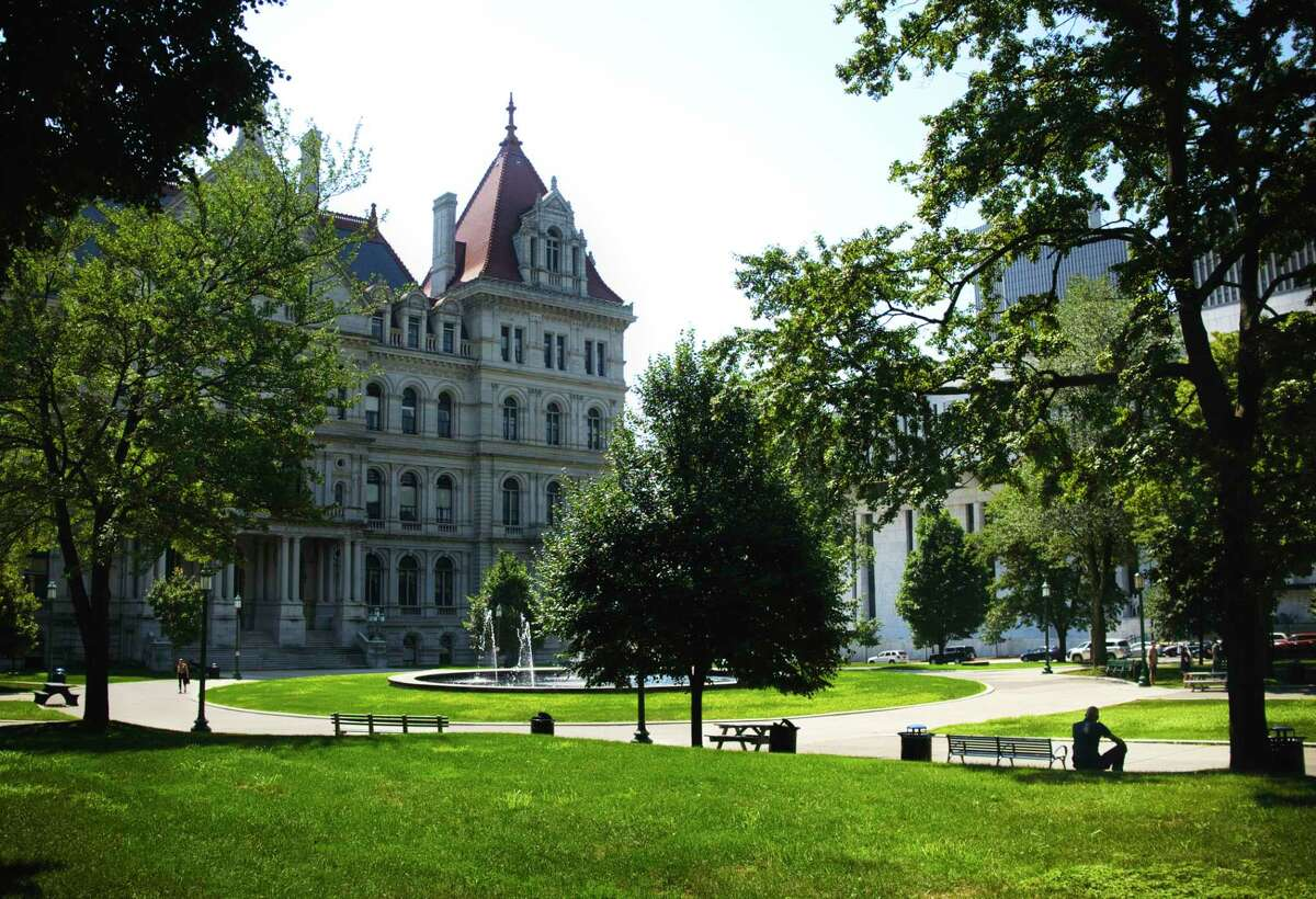 FILE. West Capitol Park in Albany, N.Y. (Paul Buckowski/Times Union)