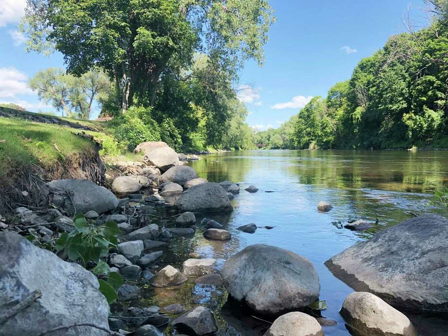 This week, the Big Rapids City Commission voted to accept a $25,000 grant to be put toward a new kayak launch at Hemlock Park. (Pioneer photo/Bradley Massman)