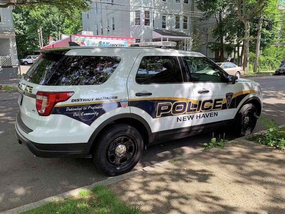 File photo of a New Haven, Conn., police cruiser. Photo: Hearst Connecticut Media / Tara O'Neill