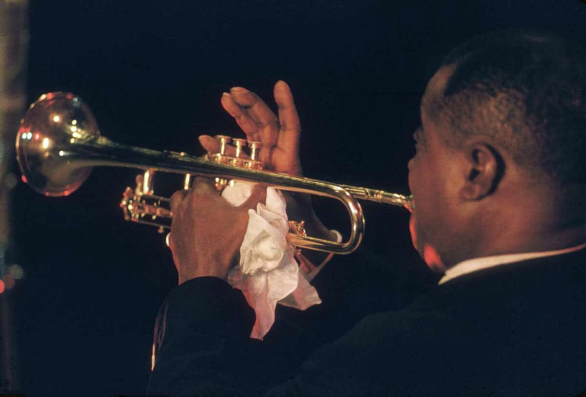 Louis Armstrong is one of the jazz luminaries captured in Bert Stern's documentary