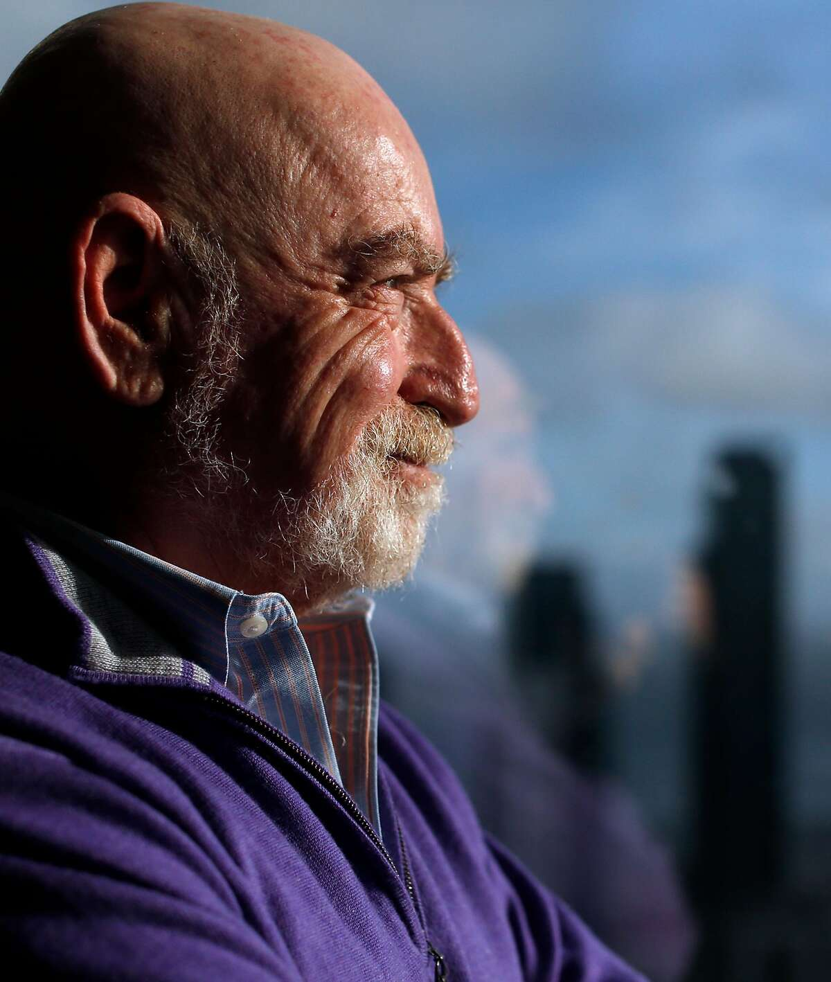 Salesforce's Peter Schwartz in his office in San Francisco, Calif., on Tuesday, December 22, 2015.