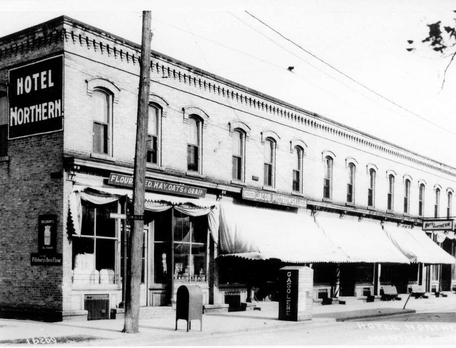 The Hotel Northern located on Washington Street circa mid 1920s. (Courtesy photo/Manistee County Historical Museum)