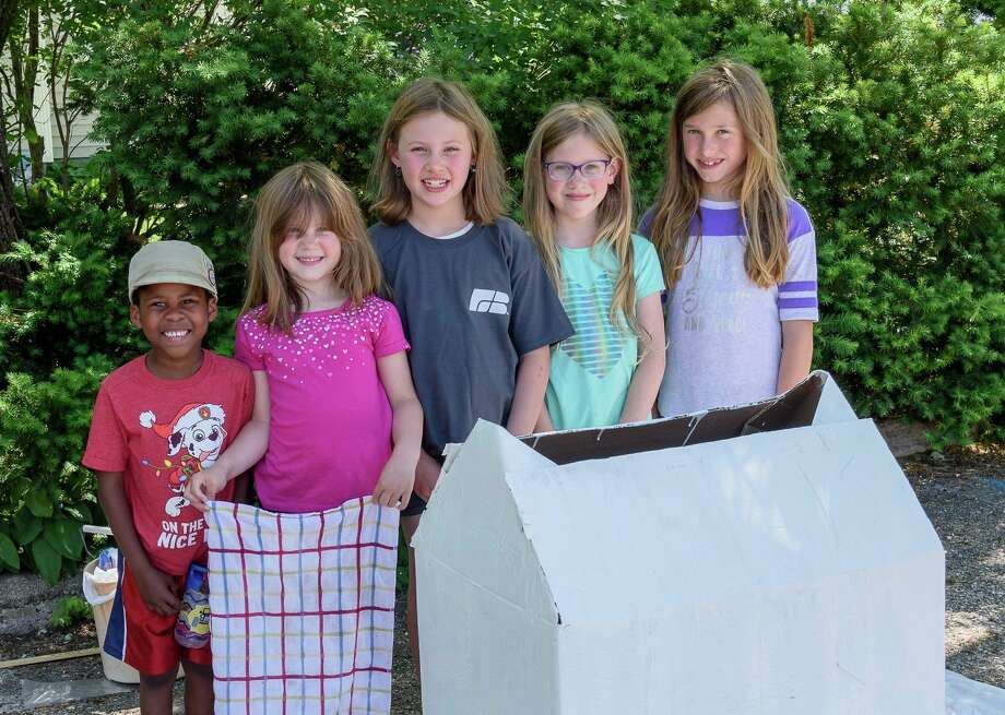 Several local kids who attend First United Methodist Church worked together to raise money for the Mecosta County Habitat for Humanity. (Courtesy photo) / ©2020 Gary Poole