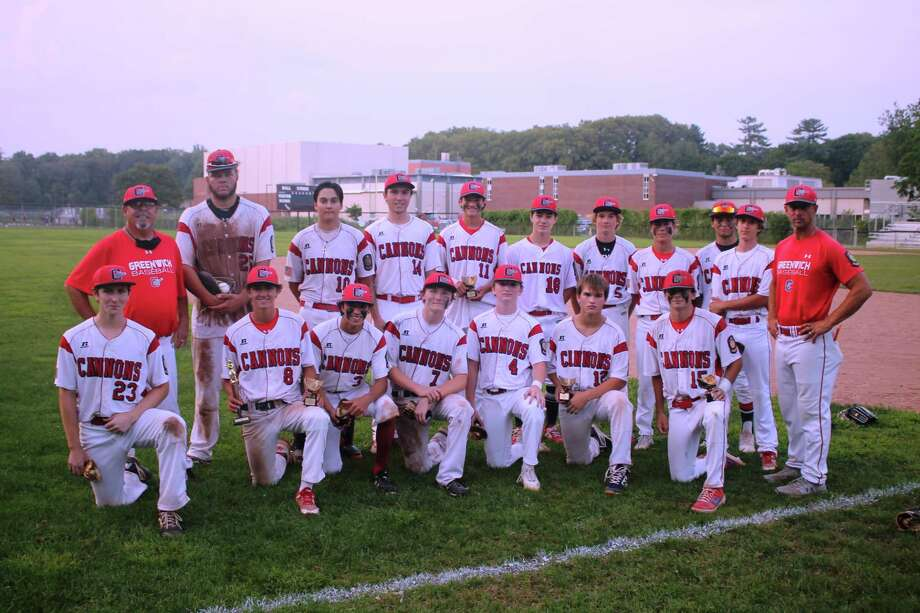 The Greenwich Junior American Legion Cannons won the FCB Junior Division title on Monday August 10, 2020, with a win against Fairfield in the championship game at Greenwich High School in Greenwich, Connecticut. Photo: Contributed Photo