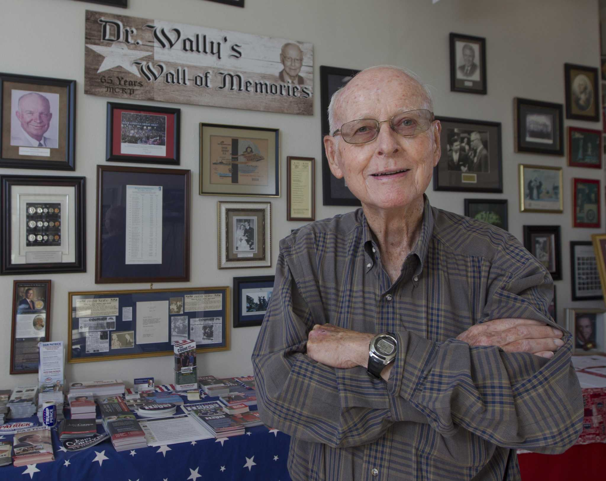Opinion: After 56 years, GOP's departing chair 'Dr. Wally' recalls when Montgomery County couldn't spell Republican