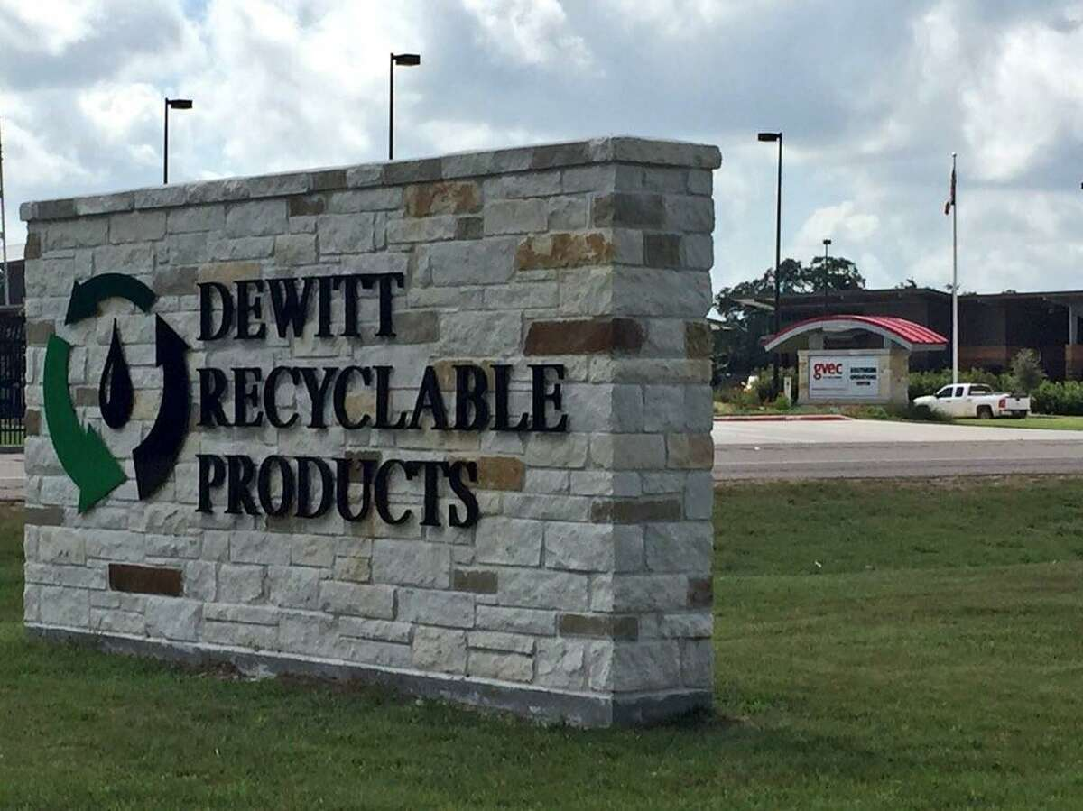 Located in the Eagle Ford Shale town of Cuero, DeWitt Recycable Products is at the center of a legal dispute that involves Jim Wright, a Republican candidate in the November general election seeking a seat on the Railroad Commission of Texas, the primary state agency that regulates the oil and natural gas industry.