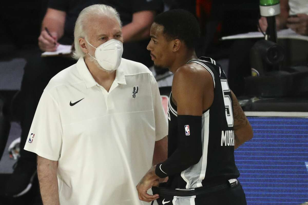"""Spurs coach Gregg Popovich put his """"full faith"""" in the leadership of NBA commissioner Adam Silver."""