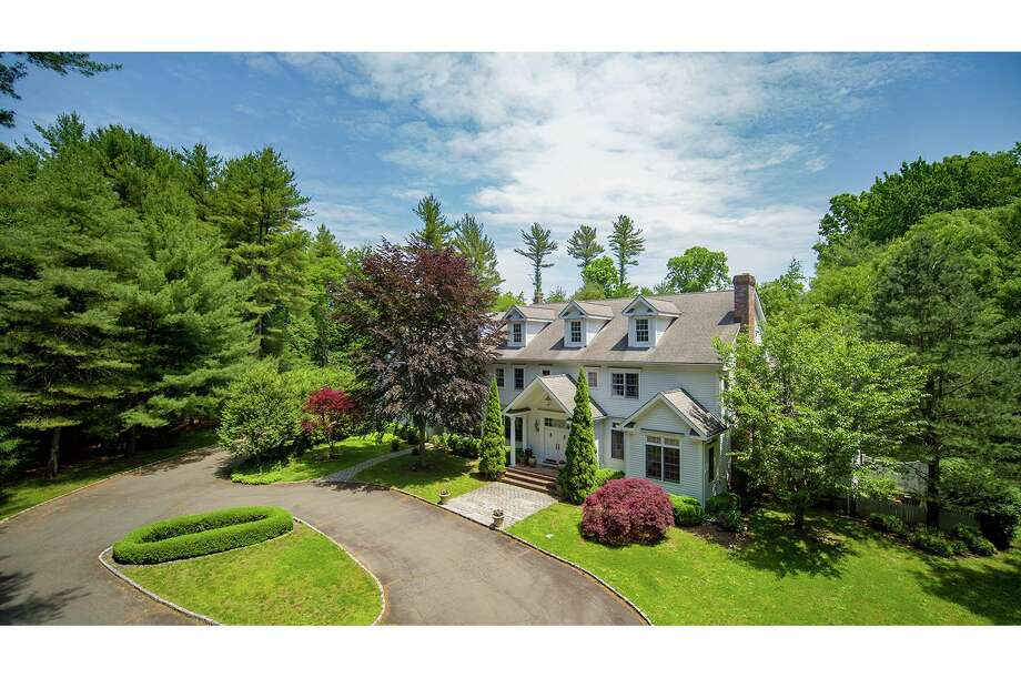 The gated property at 25 Mile Common Road in Easton comprises resort-worthy amenities as well as a paddock and kennels.