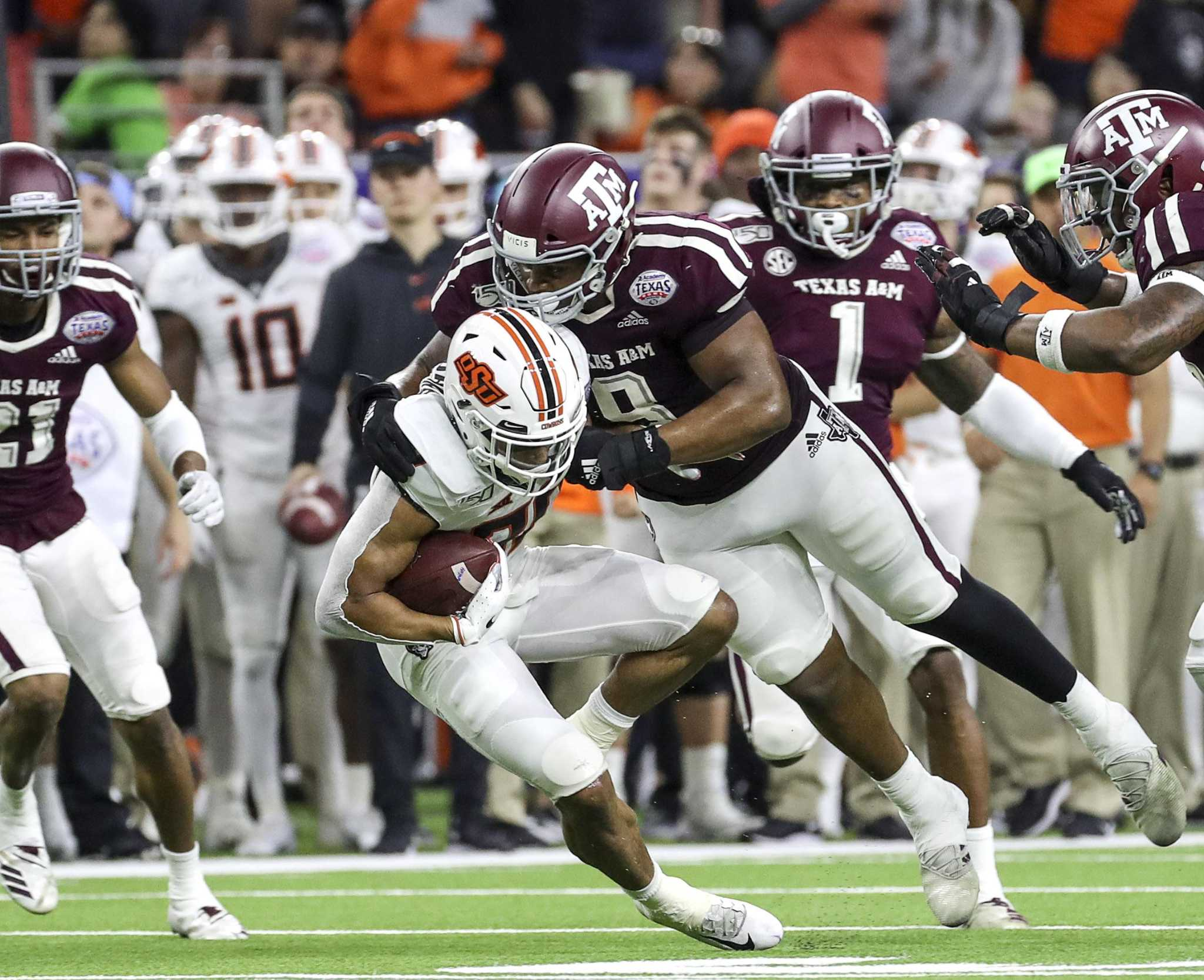 Texas A&M on football: 'We're not going to give up'
