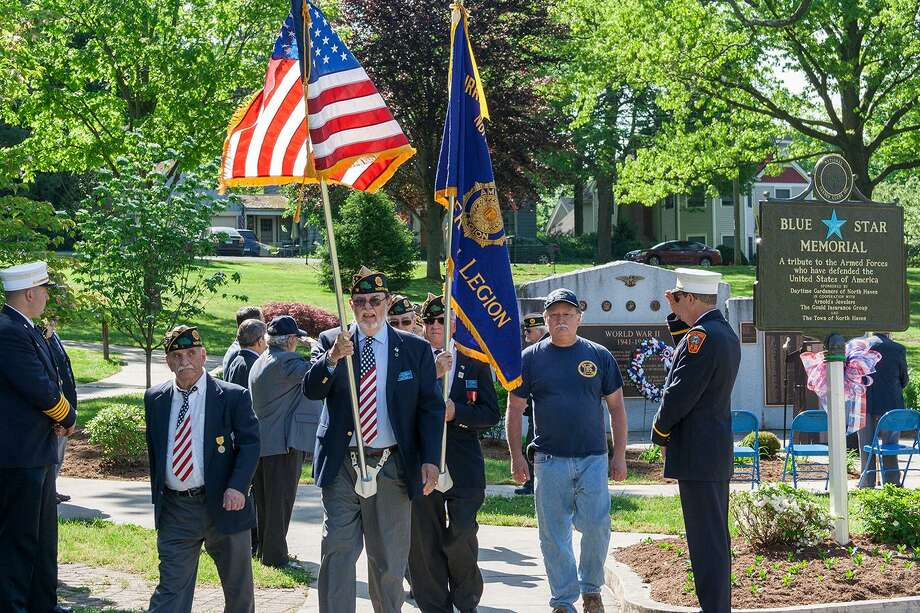 American Legion Post 76 at on the North Haven Green. Photo: Bill Dillane / Contributed Photo