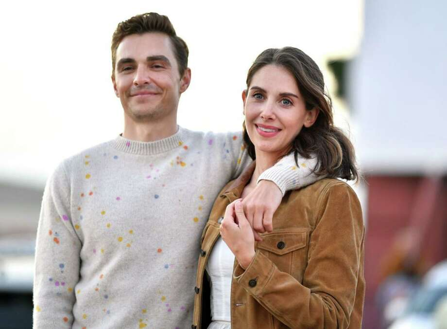 "Dave Franco and Alison Brie attend the Los Angeles advanced screening of IFC's ""The Rental"" at Vineland Drive-In on June 18, 2020 in City of Industry, California. Photo: Amy Sussman / Getty Images / TNS / Getty Images North America"