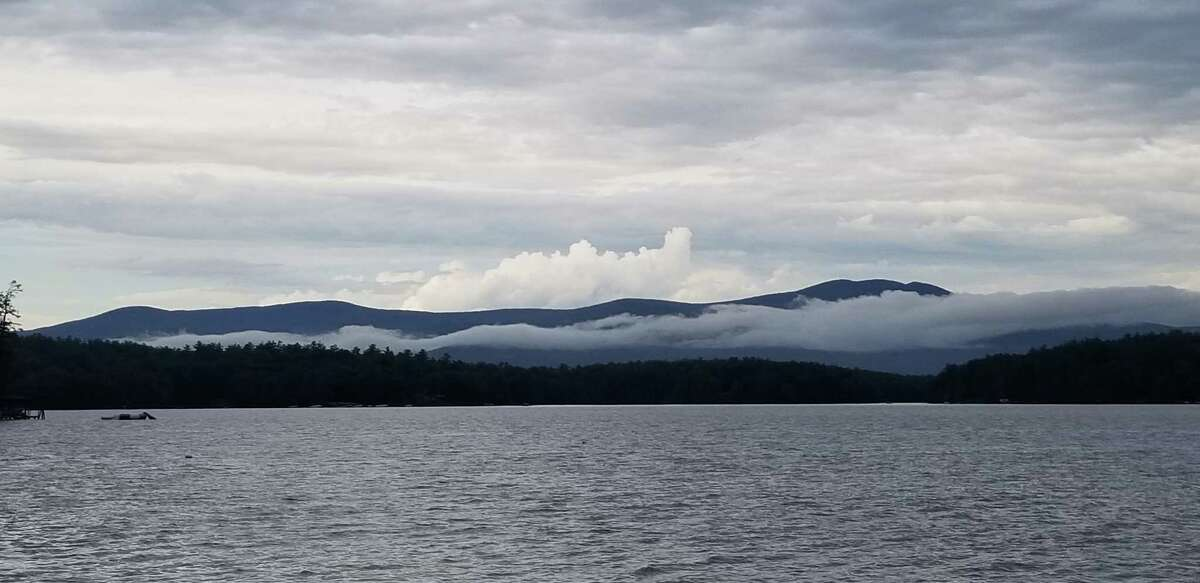 Across Lake Winnipesaukee in New Hampshire Bob Pettie of Glenmont photographed this extraordinary cloud structure at 5:23 p.m. July 23.