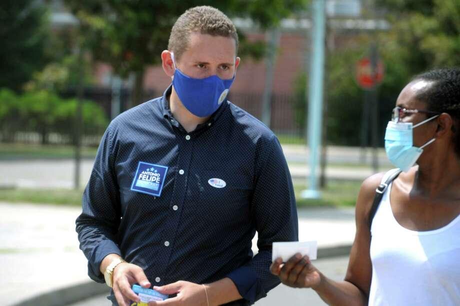 State Rep. Antonio Felipe Photo: Ned Gerard / Hearst Connecticut Media / Connecticut Post