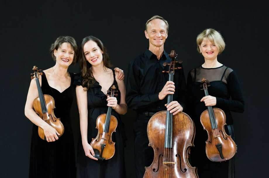 The New Zealand String Quartet Photo: Music Mountain / Contributed Photo /