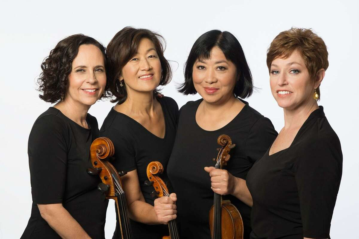 The Cassat String Quartet, pictured here in 2020, is one of the many beloved groups of musicians scheduled to perform this summer at Music Mountain in Falls Village.