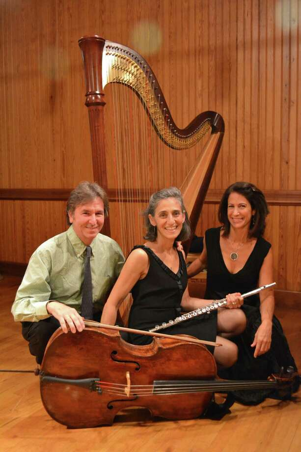The Sherman Chamber Ensemble founders Eliot Balen and Susan Rothholz are joined by Stacey Shames for their next concerts, set for Aug. 15 in Kent and Aug. 16 in Sherman. Photo: Sherman Chamber Ensemble / Contributed Photo