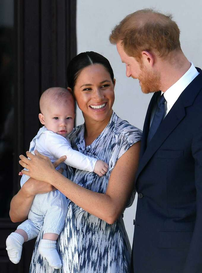 "Harry, Meghan and Archie Get a New Home : A spokesman for the Sussexes confirmed that they have bought a Santa Barbara property and ""settled"" into the community. Photo: Pool - Getty Images"