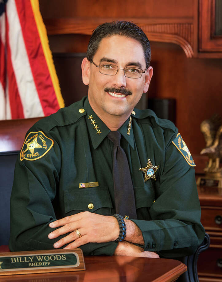 Marion County Sheriff Billy Woods banned his deputies and visitors to the Florida department from wearing masks. Photo: Marion County Sheriff's Office