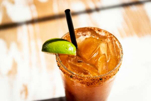 Ramen Tatsu-Ya is also doling out kimcheladas, the house spin on a beer and tomato juice-based michelada.