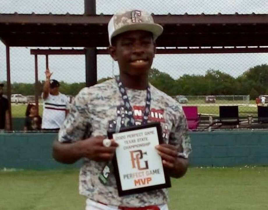 Conroe Baseball Club is holding a Home run Derby Benefit for one of its players, 13-year-old Kashaun Justice, who recently underwent emergency surgery for a brain infection and will have a long-term hospitalization. Photo: Submitted