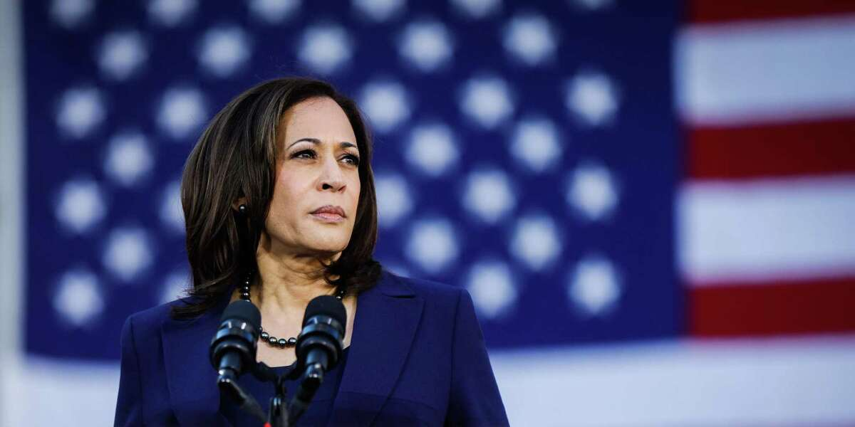 Senator Kamala Harris makes her first presidential campaign appearance at a rally in her hometown of Oakland, California, on Sunday, Jan. 27, 2019.
